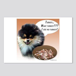 Pomeranian Turkey Postcards (Package of 8)