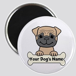 Personalized Pug Magnet