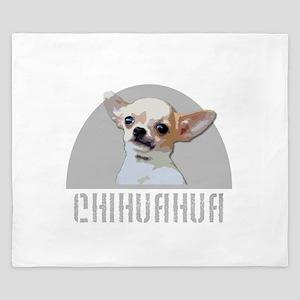 Chihuahua dog King Duvet