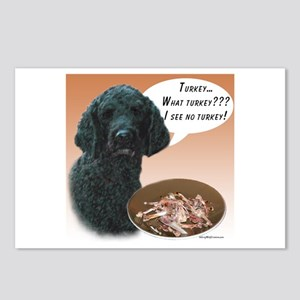 Poodle Turkey Postcards (Package of 8)