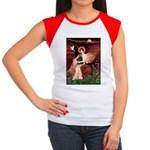 Angel / Cocker Women's Cap Sleeve T-Shirt