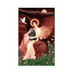 Angel / Cocker Sticker (Rectangle)