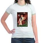 Angel / Cocker Jr. Ringer T-Shirt