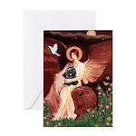 Angel / Cocker Greeting Card