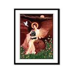 Angel / Cocker Framed Panel Print