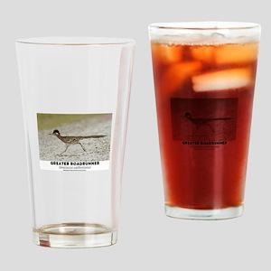 GREATER RADRUNNER - GEOCOCCYX CALIF Drinking Glass