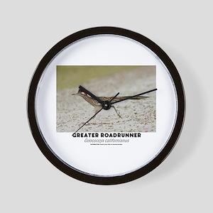 GREATER RADRUNNER - GEOCOCCYX CALIFORNI Wall Clock