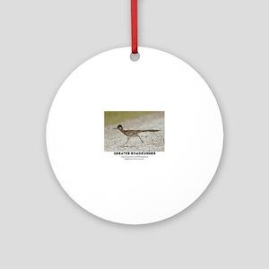 GREATER RADRUNNER - GEOCOCCYX CALIF Round Ornament