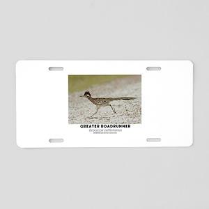 GREATER RADRUNNER - GEOCOCC Aluminum License Plate