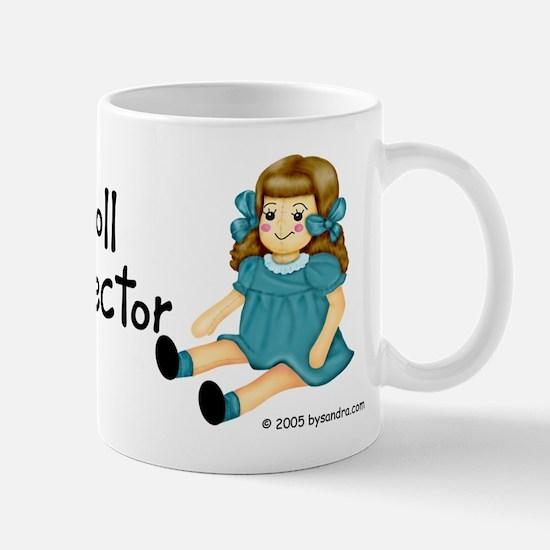 Teal - Rag Doll Mug