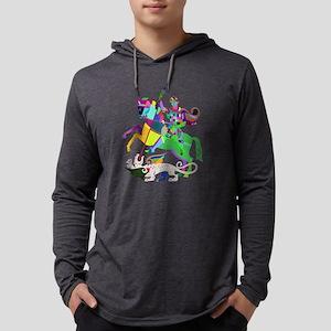 Rainbow St. George and the Dra Long Sleeve T-Shirt