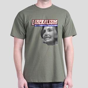 Pelosi Mental Dark T-Shirt