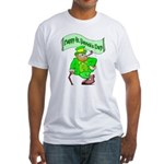 St. Patricks Day Fitted T-Shirt