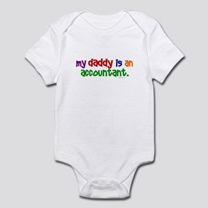 My Daddy Is An Accountant (PR) Infant Bodysuit
