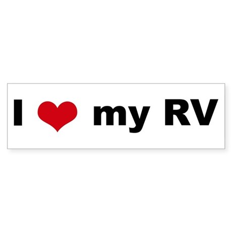 Rv retirement bumper stickers cafepress rh cafepress com rv blogs rving i love my zookeeper