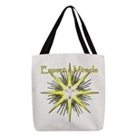 Christian Miracle Polyester Tote Bag