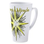 Christian Miracle 17 oz Latte Mug