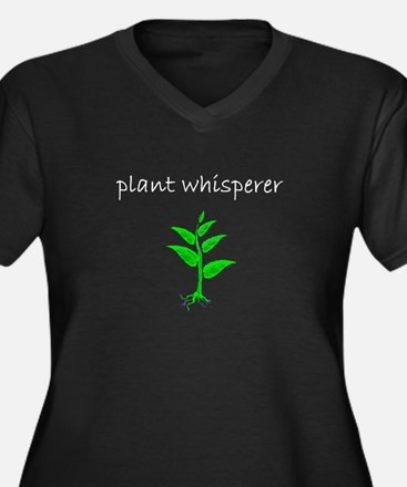 Plant Whisperer Dark Plus Size T-Shirt