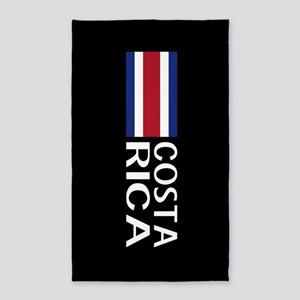 Costa Rica: Costa Rican Flag & Costa Rica Area Rug