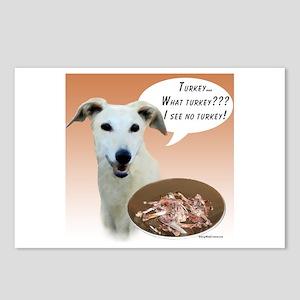 Greyhound Turkey Postcards (Package of 8)