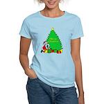 Christmas Scene Women's Light T-Shirt