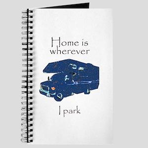 Home is wherever I park Journal
