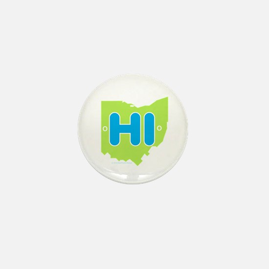 Cute Ohio Mini Button