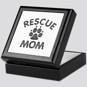 Rescue Dog Mom Keepsake Box