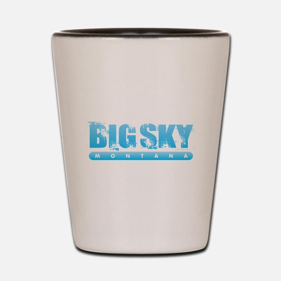 Montana - Big Sky Shot Glass
