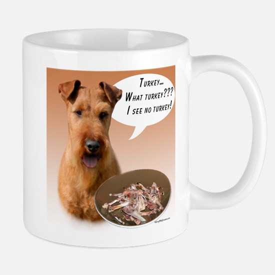 Irish Terrier Turkey Mug