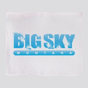 Montana - Big Sky Throw Blanket