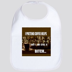 pretend coffee Bib