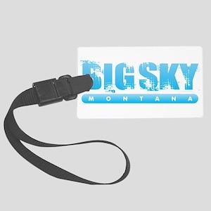 Montana - Big Sky Large Luggage Tag