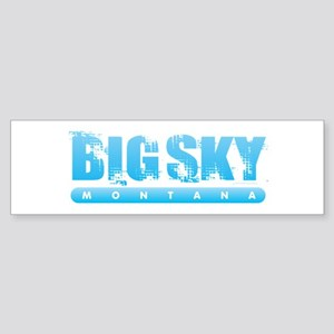 Montana - Big Sky Bumper Sticker