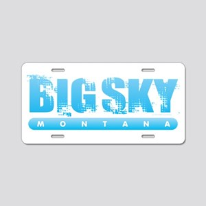 Montana - Big Sky Aluminum License Plate