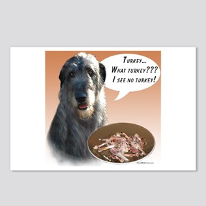 Wolfhound Turkey Postcards (Package of 8)