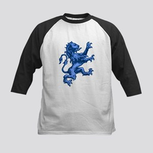 Renaissance Lion (blue) Kids Baseball Jersey