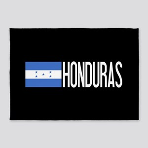 Honduras: Honduran Flag & Honduras 5'x7'Area Rug