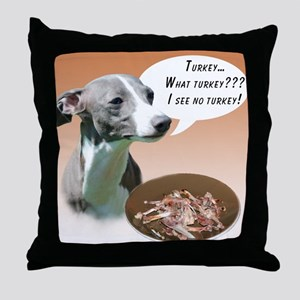 Iggy Turkey Throw Pillow