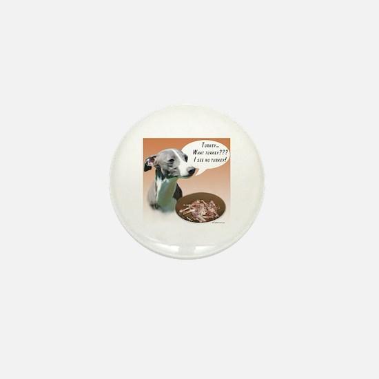 Iggy Turkey Mini Button