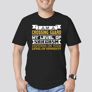 Im Crossing Guard Level Sarcasm Level Stup T-Shirt