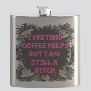 Pretend Coffee Helps Flask