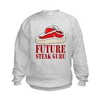 Future Steak Guru Kids Sweatshirt
