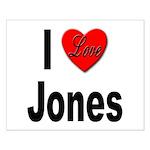 I Love Jones Small Poster