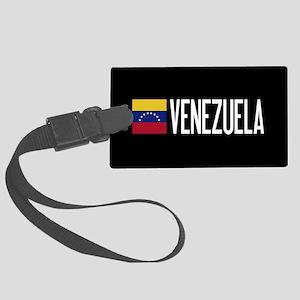Venezuela: Venezuelan Flag & Ven Large Luggage Tag