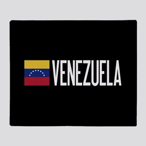 Venezuela: Venezuelan Flag & Venezue Throw Blanket