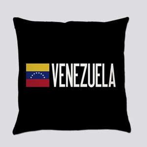 Venezuela: Venezuelan Flag & Venez Everyday Pillow