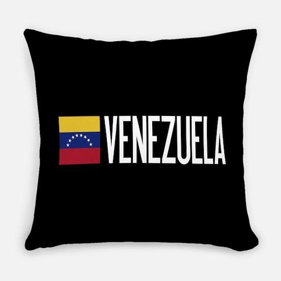 Venezuela: Venezuelan Flag & Venez Everyday Pillow