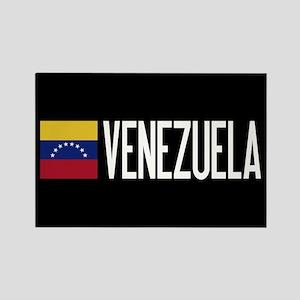 Venezuela: Venezuelan Flag & Vene Rectangle Magnet