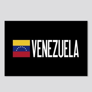 Venezuela: Venezuelan Fla Postcards (Package of 8)